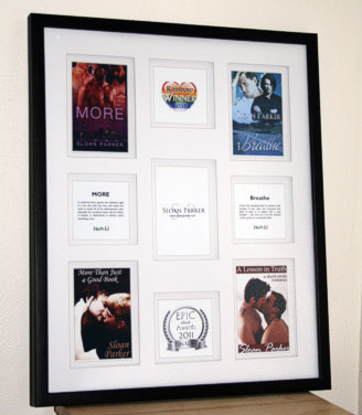 Sloan's Framed Book Covers