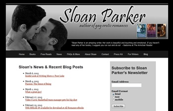 New Sloan Parker Site Design