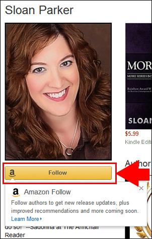 Amazon Author Follow