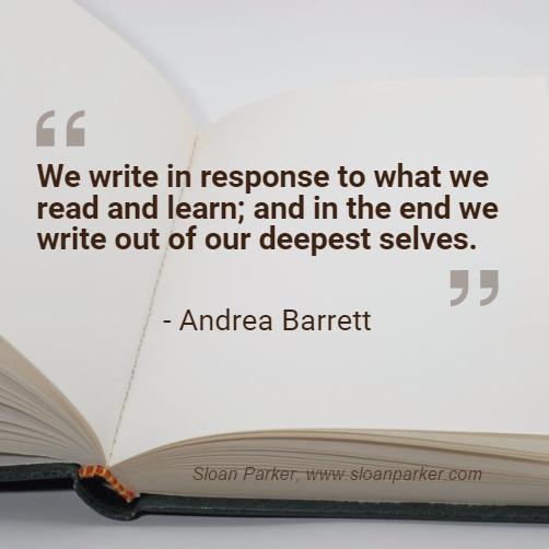 We Write...