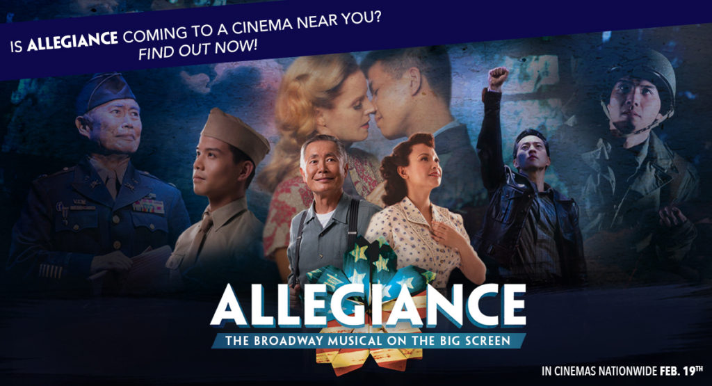 Broadway musical Allegiance returns to cinemas nationwide